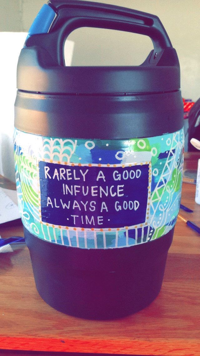 Custom Hand Painted Bubba Keg   Perfect to keep hydrated in style on the beach or pool this summer! Fun gift for bridal parties!  Maybe you have seen something on Pinterest that you really enjoyed but don't have the precision or time to execute it exactly how you would like!  Send me a picture or an idea of what you want. Color scheme, favorite saying/quote, animal, something you love, monogram (Format: First initial, Last initial, Middle initial)  I cannot produce EXACT copies of pictures…
