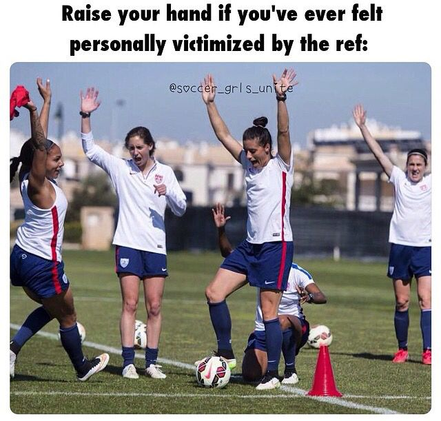 ⚽️Soccer its like the ref is blind   guess he's jelous of my awesomeness