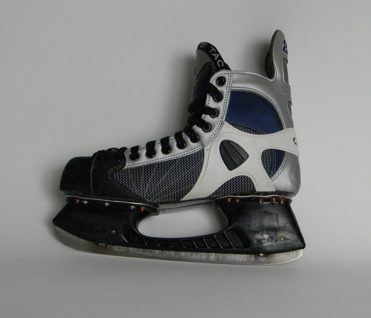Launch spring suspension ice skates with CCM hockey boot  www.LaunchSkates.com