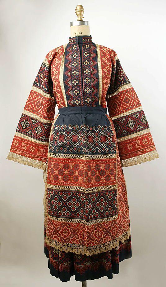 Non-Western Historical Fashion - Ensemble 20th century Russia