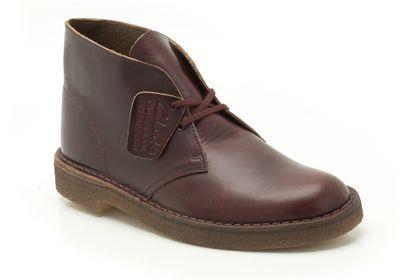 Clarke's Leather Desert Boots