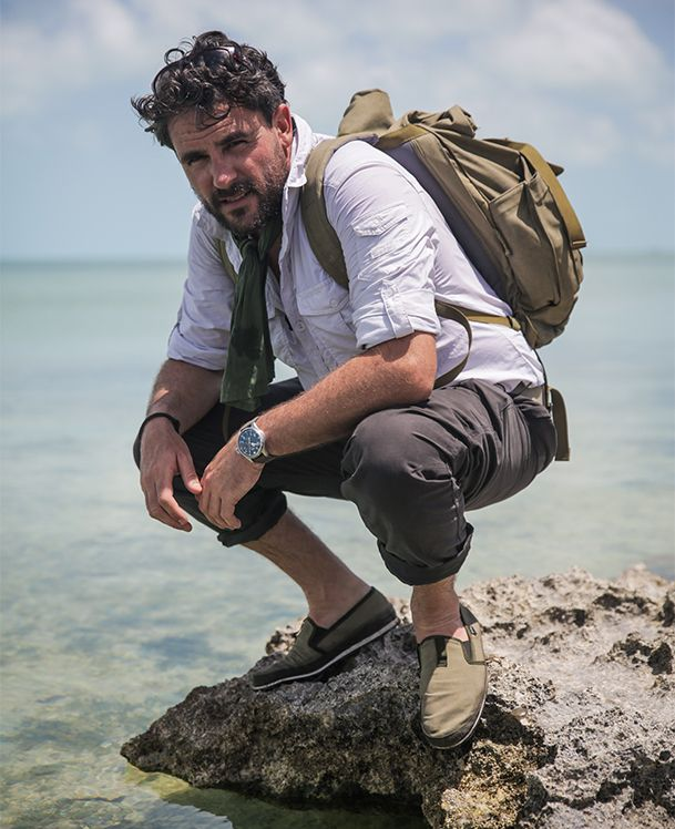 The Explorer's Espadrille. A collaboration between Levison Wood and Oliver Sweeney