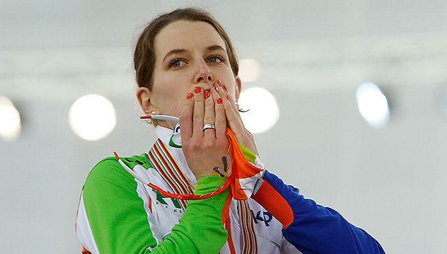 5 medailles op het WK afstanden in Sochi voor Ireen Wüst, waaronder 3 gouden!