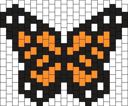 Butterfly Charm Bead Pattern