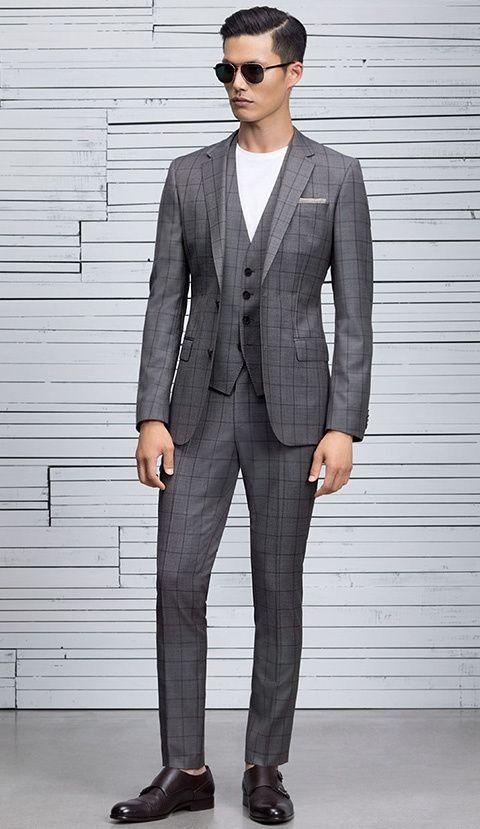 Men 39 s clothing accessories boss hugo boss fashiom for Men s dress shirt accessories