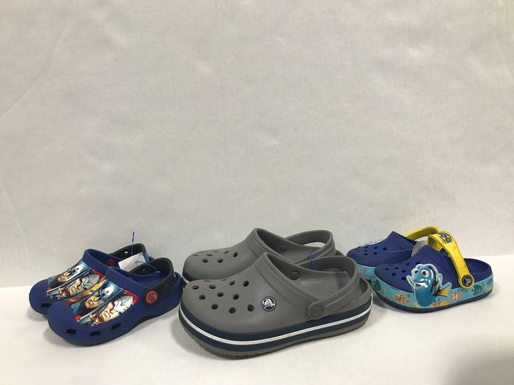 Come to Once Upon A Child Syracuse and do the CROCodile Rock with our fun selection of gently used Crocs!!!  Avengers Crocs- size 8.5 $8.50 Grey Crocs- size 1.5 $8.50 Nemo Crocs- size 7 $5.50  Dark Pink Crocs- size 8 $7.50 Navy Crocs- size 7 $7.50 Light Pink Crocs- size 7 $7.50  #ouac #ouacsyracuse #crocs #summeriscoming #fun #sellbuyrepeat