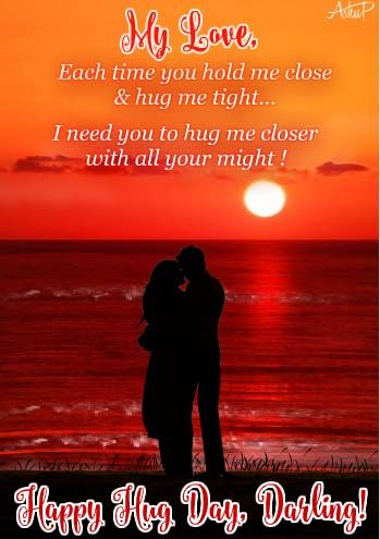Free Online Romantic Hugs For You Ecards On Love