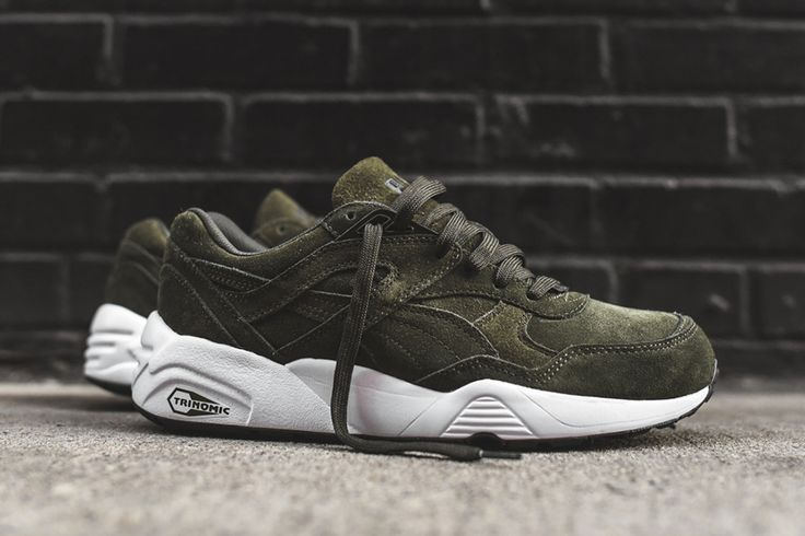 "http://www.sweatertrends.com/category/puma/ Puma R698 ""Forest Night"""