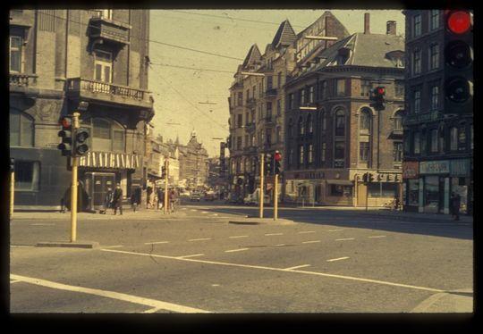 Vesterbrogade ved Værnedamsvej, ca. 1960