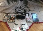 Sony PSP 1001 With 4 Games Memory Card Charger & 2 Extra Joystick Cap Covers