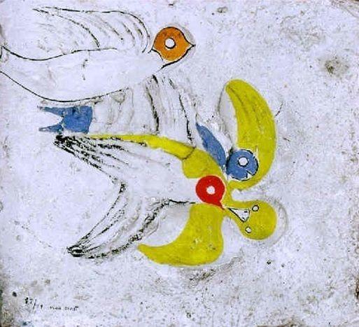 Max Ernst, Ci-fut une hirondelle, 1927, Galerie Thomas