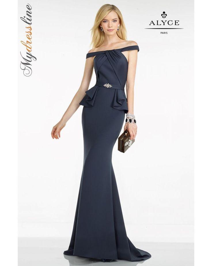 evening dresses peplum