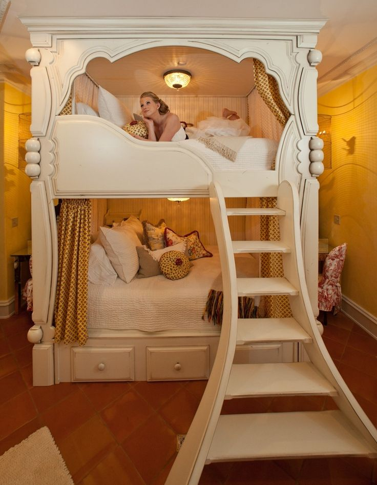 Handmade Victorian Bunk Beds by Rusty Nail Design, Inc. | CustomMade.com