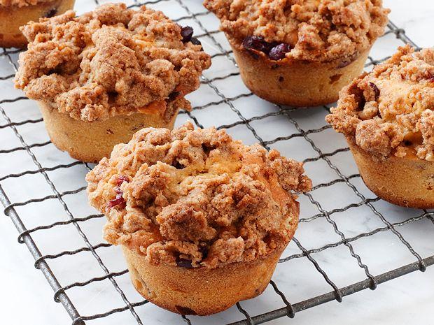 Cranberry-Eggnog Muffins Recipe : Food Network Kitchen : Food Network - FoodNetwork.com