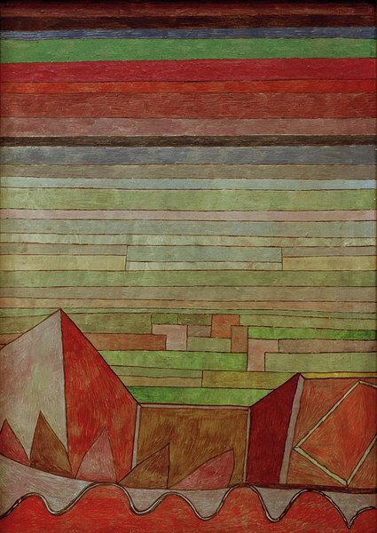 Brick in das Fruchland Paul Klee