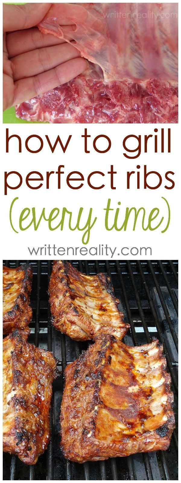 How to Cook Ribs on the Grill: The secret to cooking BBQ ribs on the grill is not about the sauce. Check out these Best BBQ Ribs Ever! Seriously. They are the best barbecue ribs on the grill you've ever tasted.