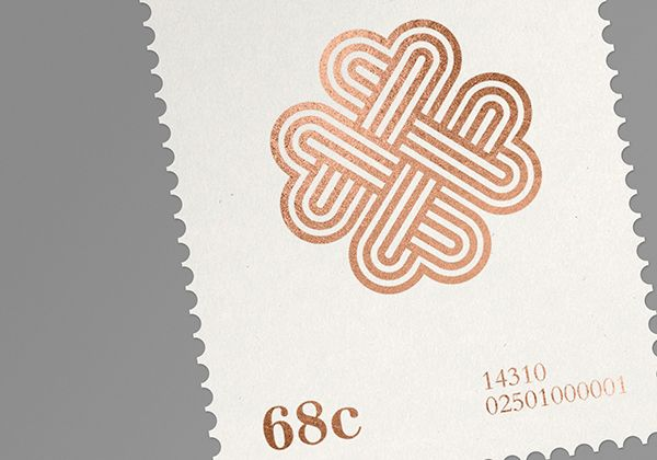Aaron Canning designed some stamps for his... | Art & Design | Nae-Design Sydney Interactive Blog