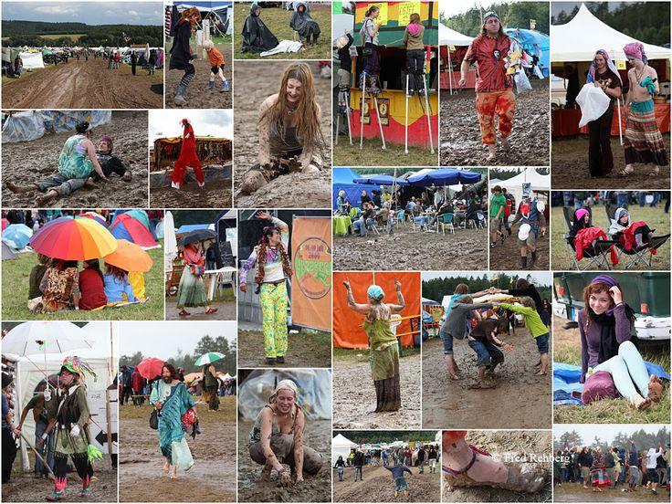 Burg Herzberg Festival - ... mud and rain von Fred Rehberg