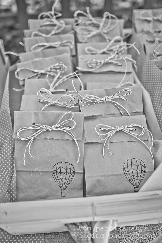 Hot air balloon themed christening