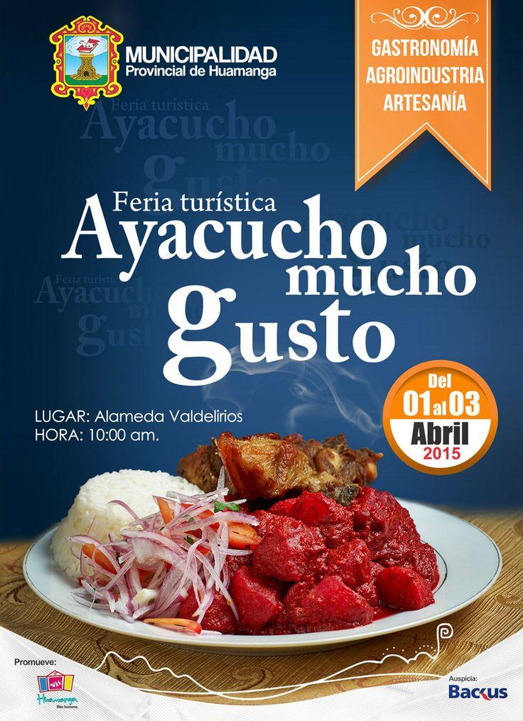 Feria Turística Ayacucho Mucho Gusto 2015