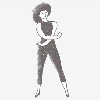 Dance : illustration by hannah warren via present and correct
