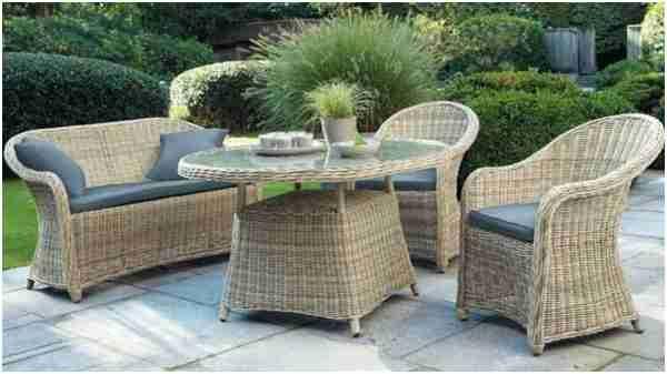 29 Aimable Salon Jardin Rotin   Table Design di 2019   Outdoor ...