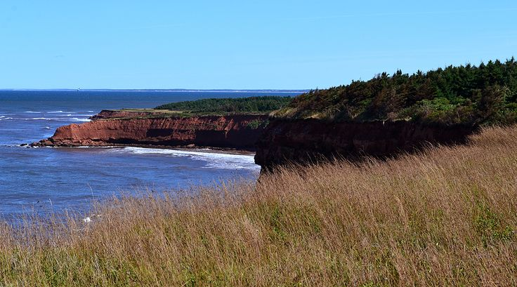 View from bike trail from Cavendish to North Rustico