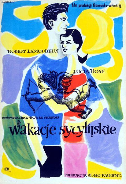 1956 MLODOZENIEC: Wakacje sycylijskie