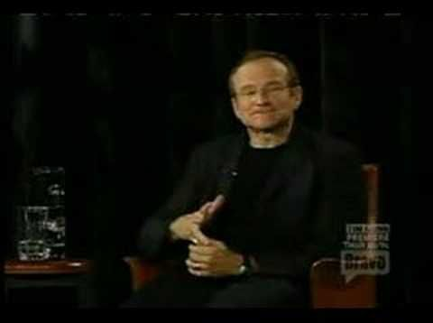 Robin Williams - Impersonation of a Smart Kid. Everyone needs to see this. So hilarious.