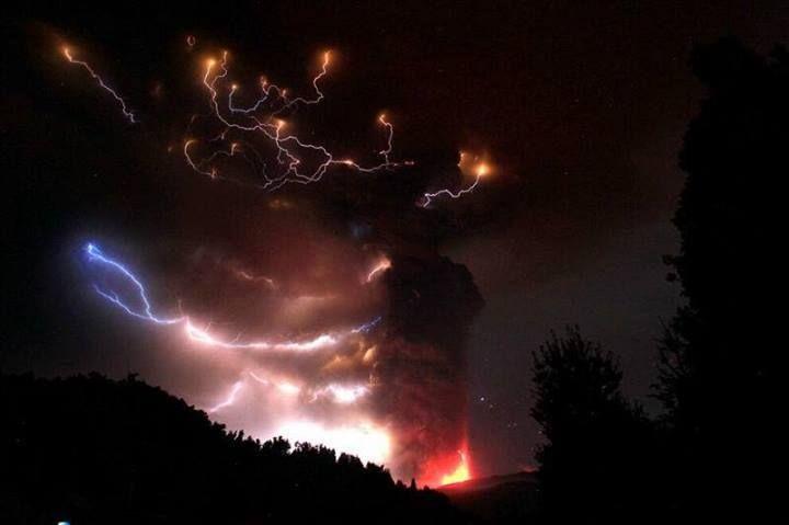 #kelud #disaster #magma #blast #indonesia #fire #mount #eruption