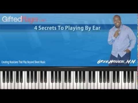 playing gospel music by ear