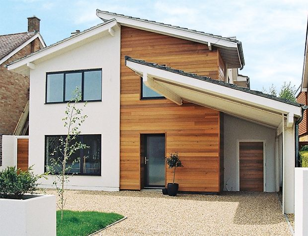 Do you want to update your home's exterior with new cladding, render or paint? Discover how the latest finishes could modernise your property as well as add a practical weatherproofing guard.