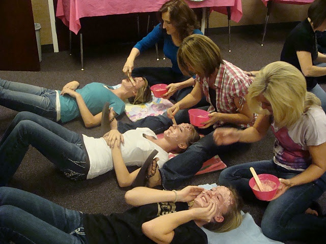 Mother Daughter Spa Night for Young Women or Achievement Day Girls