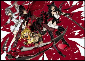 RWBY Gets 'Red Like Roses' Manga Anthology in Spring - News - Anime News Network