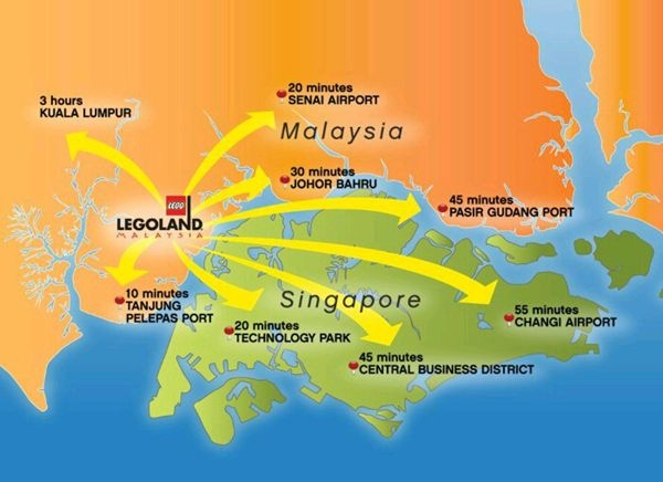 Lego Land #Malaysia on Map  http://helloasia.travel