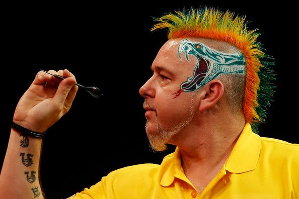 Peter Wright #Darts #Hair