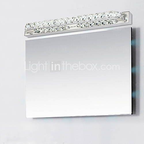 super long 87 centímetros 23W levou lâmpadas de iluminação espelho do banheiro AC 85-265V crsytal - BRL R$ 362,49