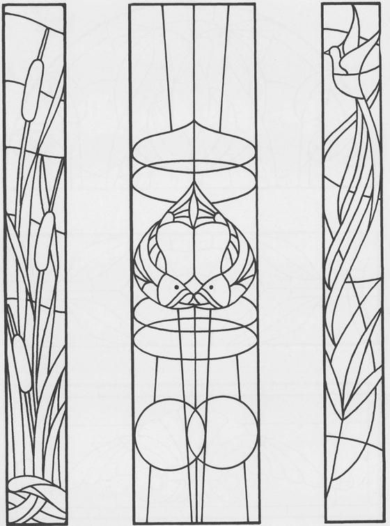 91 best Stained Glass Fonts and Patterns images on
