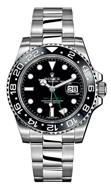Steel Oyster Perpetual GMT-Master II watch ($8,450) by Rolex Read more: Best Watches for Men - Best Luxury Watches for Men 2012 - Esquire http://www.esquire.com/style/best-watches-for-men-working-2012#ixzz2NWPkij6b