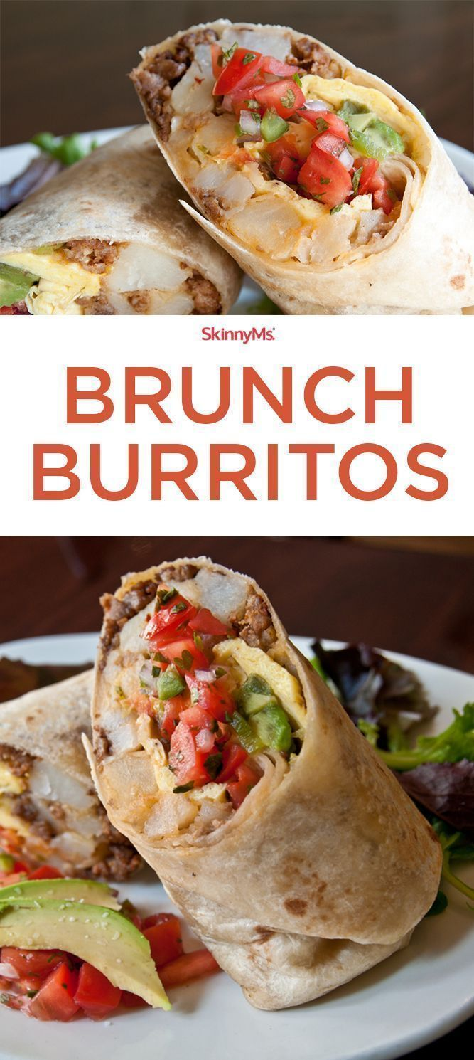 Brunch Burritos are the perfect way to start any day! #burritos #cleaneating