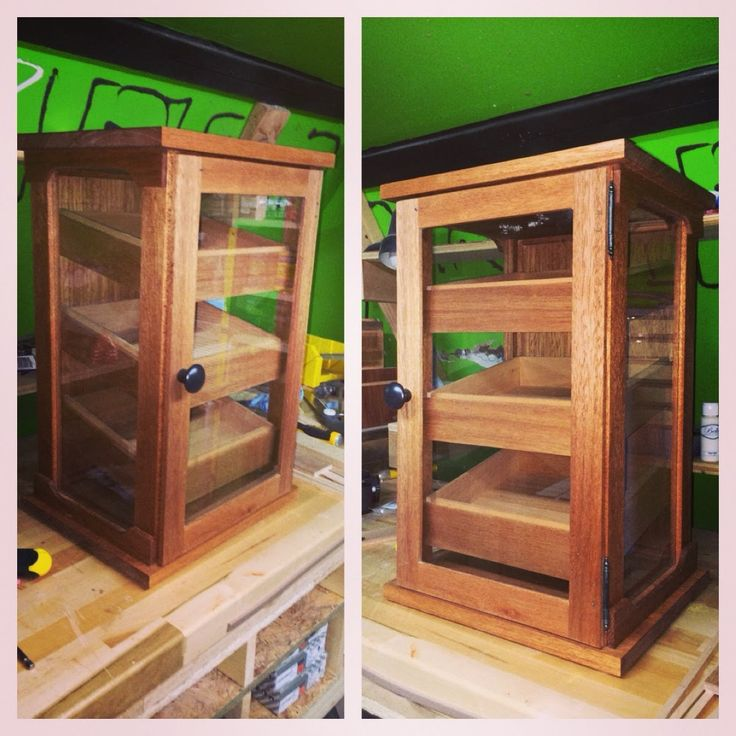 Build A Cigar Humidor Woodworking Projects Amp Plans
