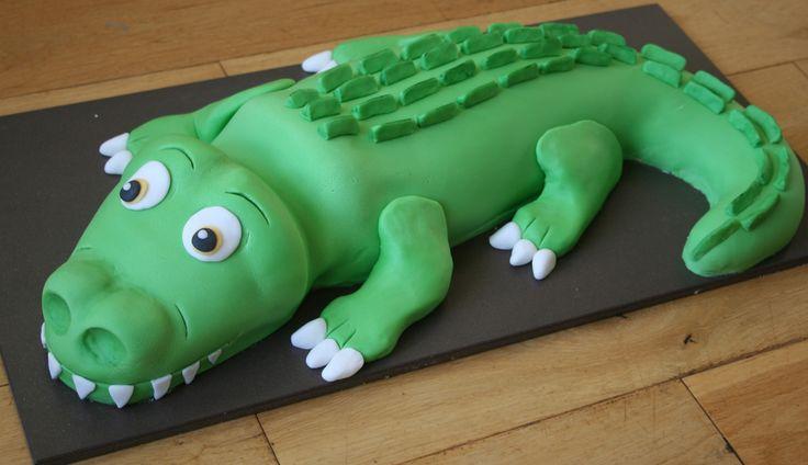 crocodile cake - Google Search