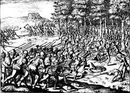 11 –  Permaneciendo en la ciudad imperial hasta la Batalla de las Salinas, El 6 de Abril de 1538,  que culminó en la derrota de los almagristas y la prisión de Almagro el Viejo.