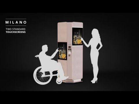 MILANO information kiosk - Industrial design - Remion Design, Budapest