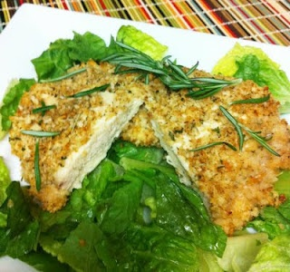 Oven Fried walnut and rosemary chicken - lots of healthy recipes!!: Oven Fried Chicken, Rosemary Ovens Fries, Weights Watchers, Recipes, Walnut Rosemary, Rosemary Chicken, Baking Chicken, Cooking, Ovens Fries Chicken