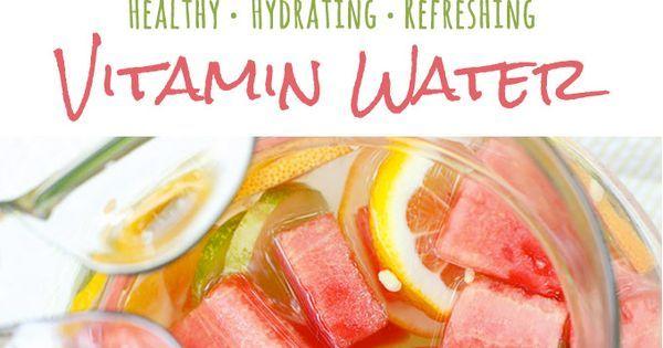 Refreshing, Nourishing Vitamin Water | Recipe | Weight loss detox, Summer and Discount codes