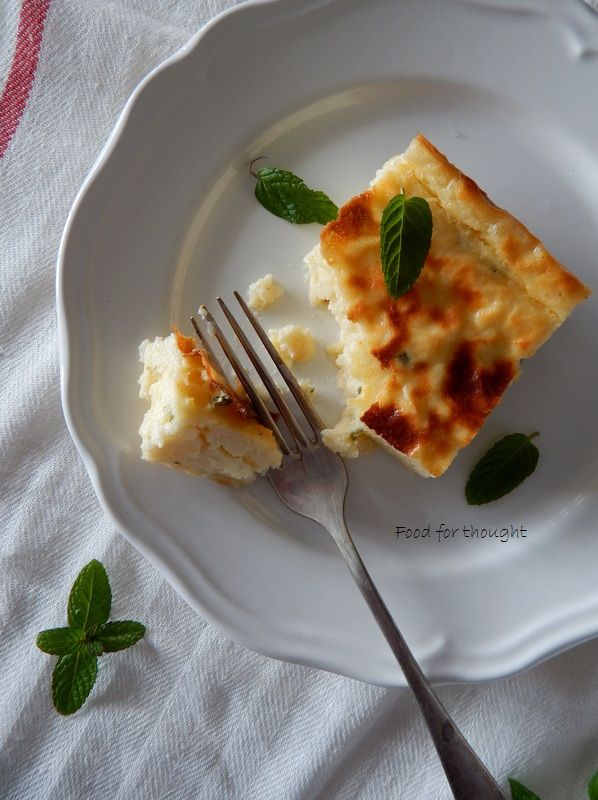 Food for thought: Γαλατόπιτα αλμυρή