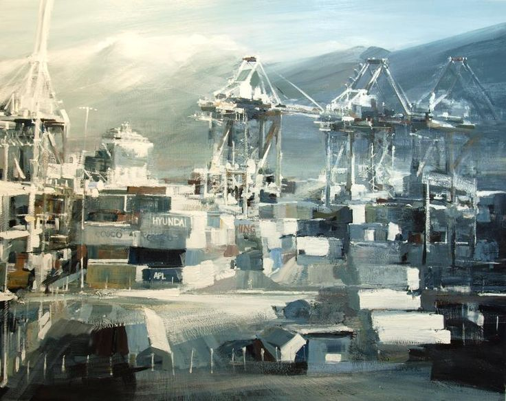 The January Painting - The Centerm Terminal with DP World