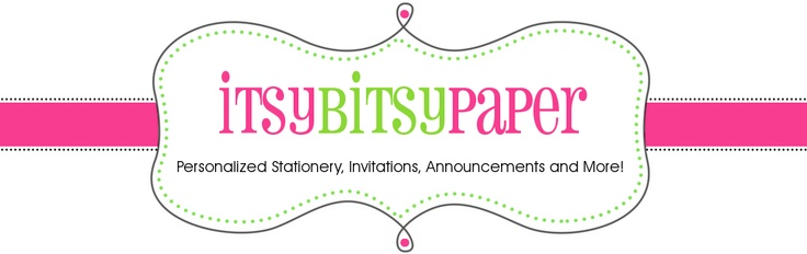 http://www.itsybitsypaperblog.com/  Welcome to Itsy Bitsy Paper's Blog!  I'm thrilled you have stopped by.  I am Lindy Harnarain, Owner and Designer behind Itsy Bitsy Paper. I have been in love with paper since I was old enough to hold a pen & feel the weight of a good piece of paper in my hands! I worked for a great gift store that specialized in paper for 4 years. I was their Wedding & Invitation specialist and loved every minute of it. Sadly the business closed & it gave me the…
