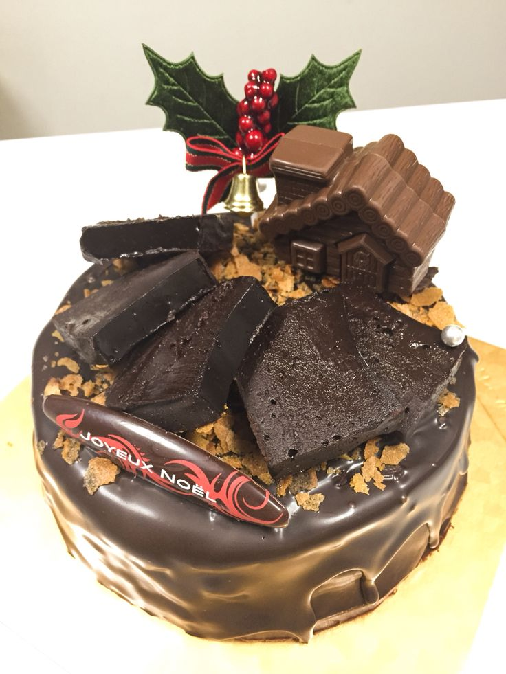 究極のチョコレートケーキ、2014クリスマス